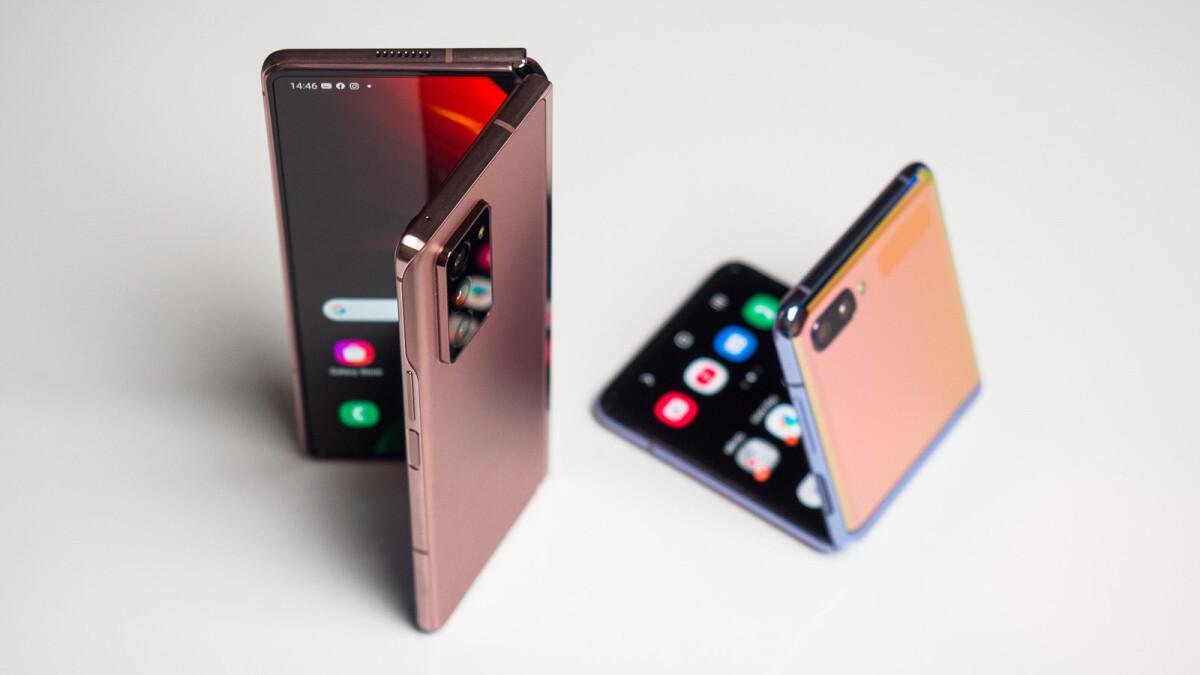 Samsung Galaxy Z Fold and Flip