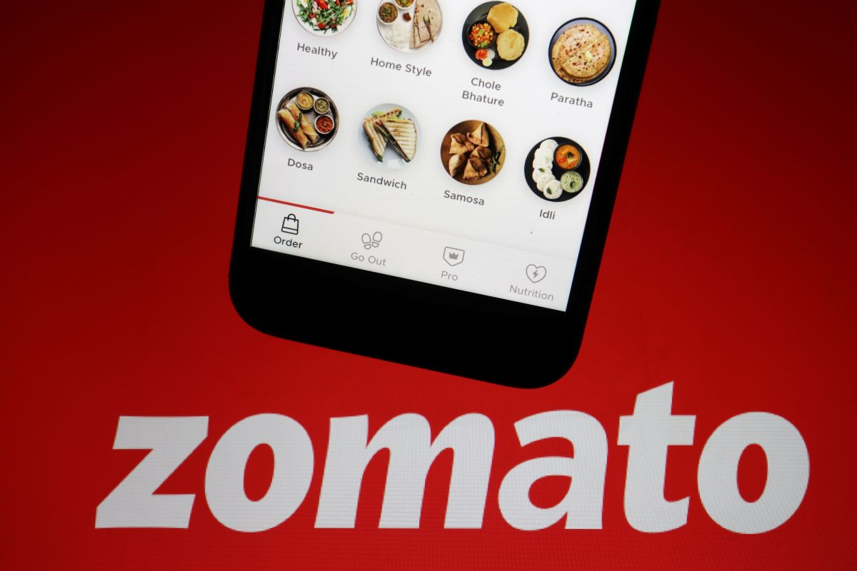 Zomato IPO sees huge gains on the listing day